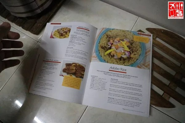 Easy to prepare dish collated on the cookbook