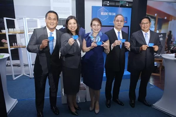 RCBC Executives led the unveiling of the RCBC Lifestyle Experience Zone during a formal ceremony meant to celebrate the bank's new corporate logo and company