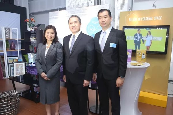 RCBC Savings Bank (RSB) Executives led the unveiling of the RCBC Home and Leisure Experience Zone