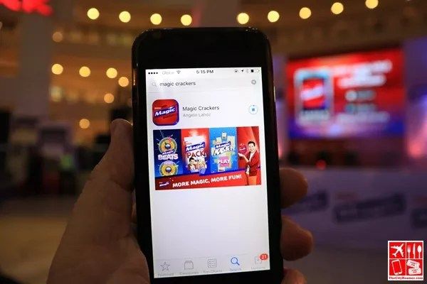 Magic Crackers Mobile App