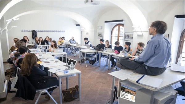 Onging class at UNISG (Photo courtesy of UNISG)
