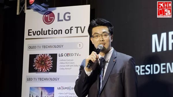 Tony An - Vice President for Home Entertainment Division of LG Philippines