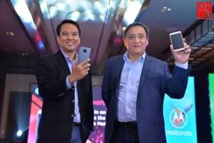 Motorola Executives at the Moto G5s Series launch