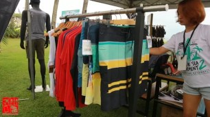 REEF apparels on display at Free the Sea Movement 2
