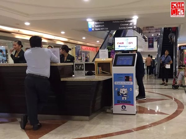 A TouchPay APM at Glorietta 4 Concierge