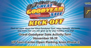 Great Goodyear Sale Kick-off Poster