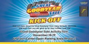Great Goodyear Sale Kick-Off on November 18 to 19