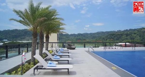 Ibiza Pool - Side View
