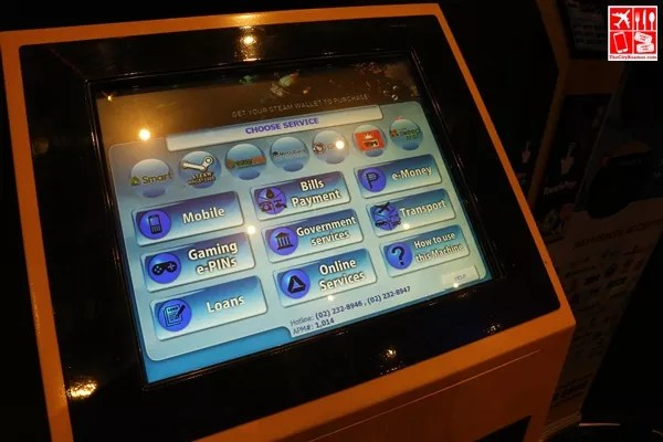 TouchPay touch screen