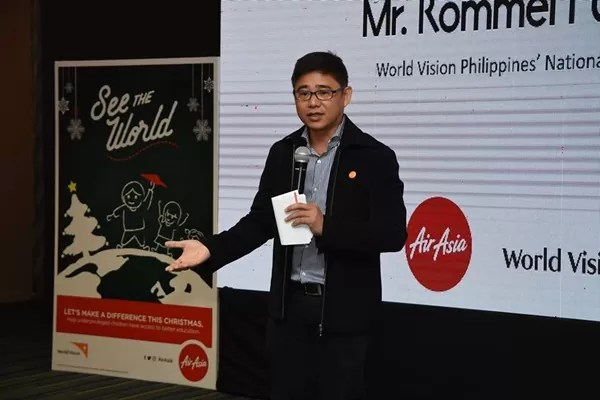 World Vision Philippines National Director Rommel Fuerte