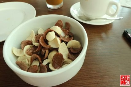 enjoyed a bowl of cereal at Mi Tapas