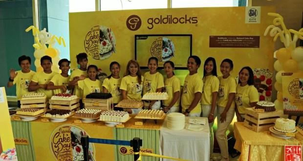Goldilocks National Cake Day Celebration