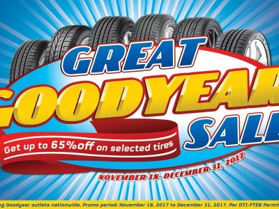 Great Goodyear Sale from November 18 to December 31