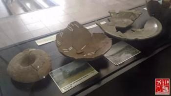 artifacts on display at Center for Kapampangan Studies