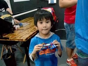 A Kid at the Brickyard Grand Prix 2017