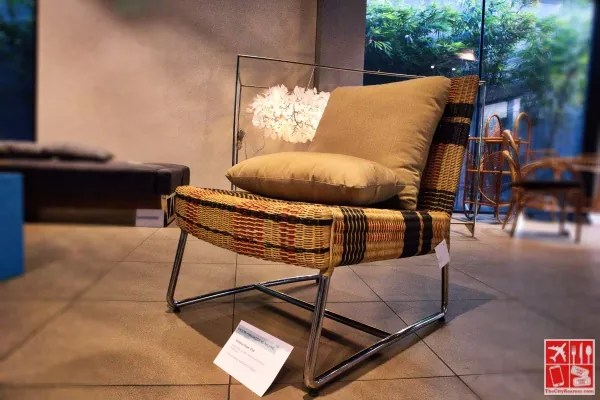 Bordeaux Slipper Chair by Calfurn Manufacturing Phils Inc