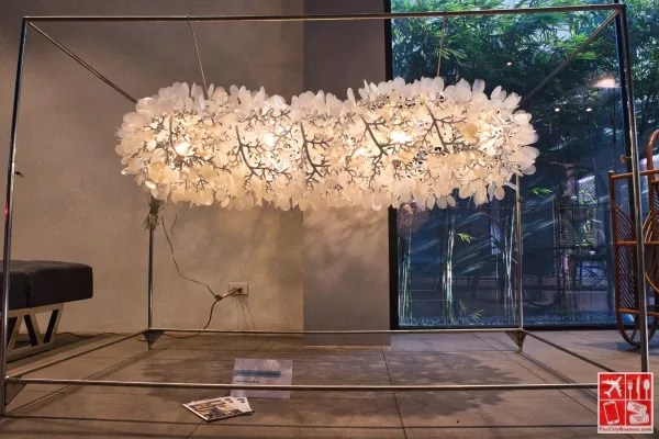 Infinity Cherry Blossom chandelier by Venzon Lighting