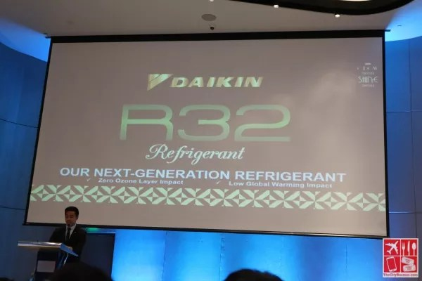 Daikin's Technical Support Engineer Mr Richard Porlaje discusses the R32 Daikin Innovation