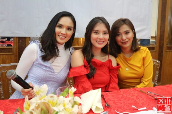 The hosts of GMA Network online shows - Reese, Arra, and Joyce
