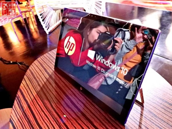 HP Spectre x2 in tablet mode with kickstand