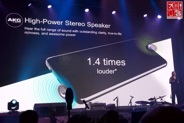 Samsung Galaxy S9 Features - High Power Stereo Speakers