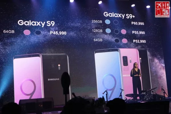 Samsung Galaxy S9 and S9+ Pricing