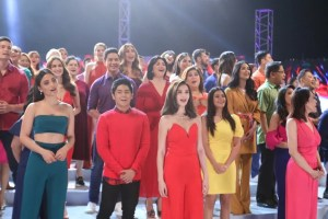 Kapuso Stars and personalities for the new GMA Network Station ID