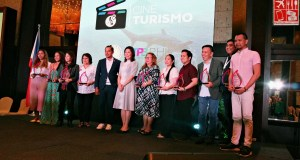 The awardees with Tourism Secretary Wanda Teo and TPB COO Cesar Montano