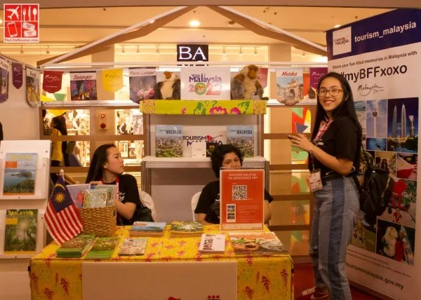 Tourism Malaysia booth
