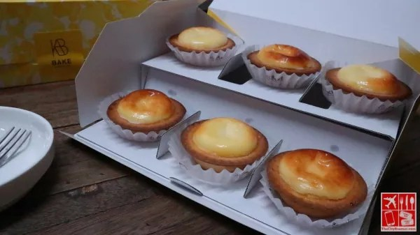 A box of BAKE Cheese Tart