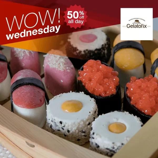 Eatigo Wow Wednesday at Gelatofix