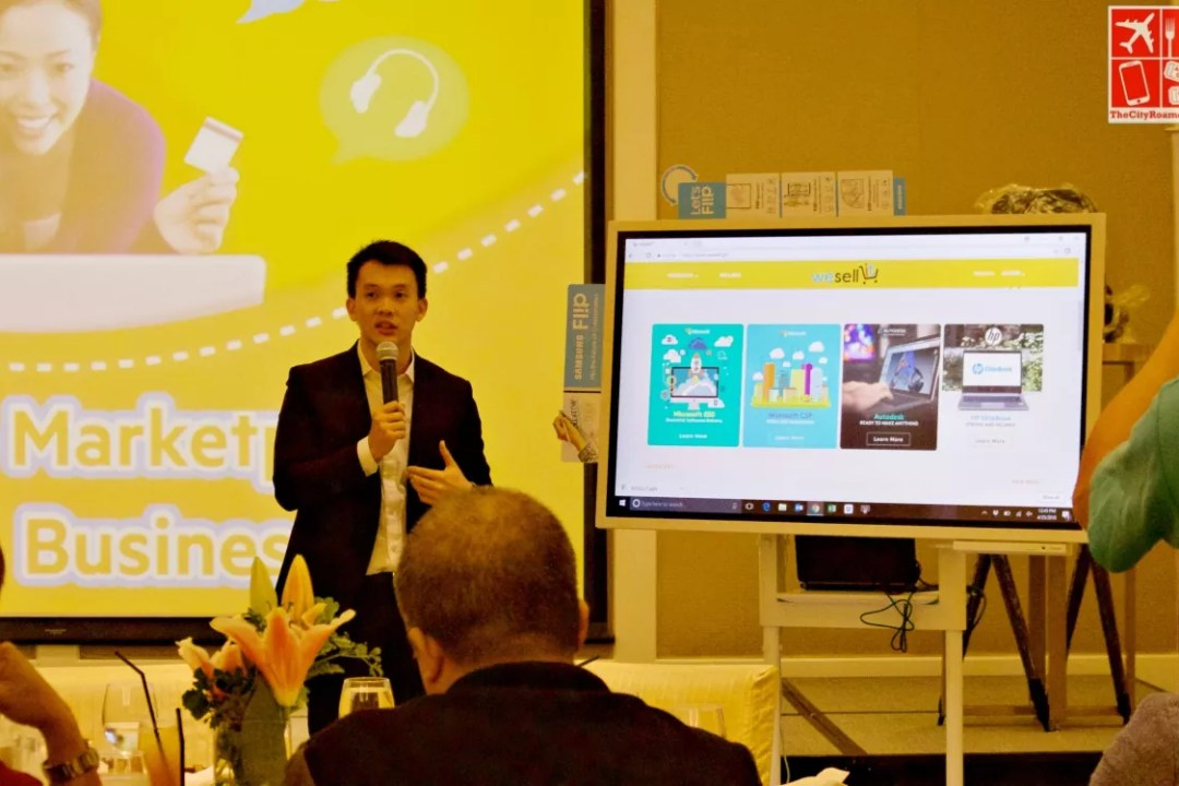 Mr Oliver Co - WeSellIT Project Manager talks about the e-commerce website at the launch
