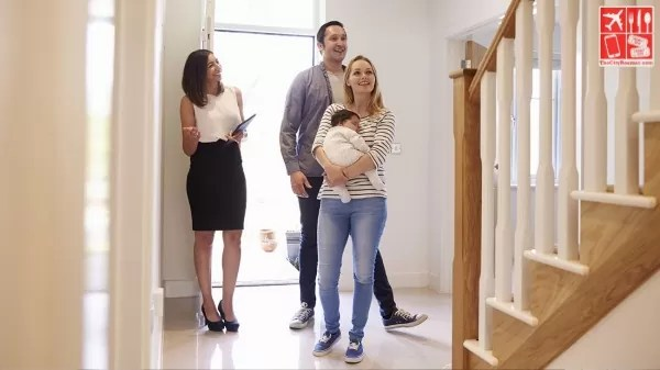 young family looking for a new home