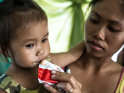 Ready to Use Therapeutic Food to fight child malnutrition