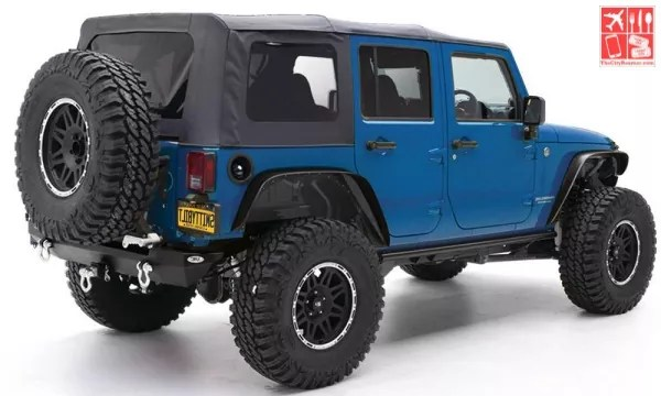 Jeep with Soft Top