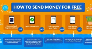 instructions to send money via GCash FREE