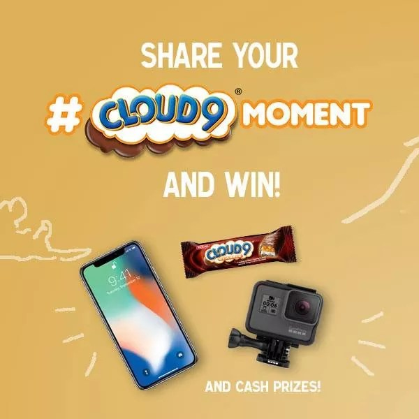 Share your Cloud 9 Moments for a chance to win an iPhone and other cool prizes