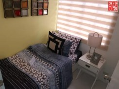3rd bedroom of the 3-br model house