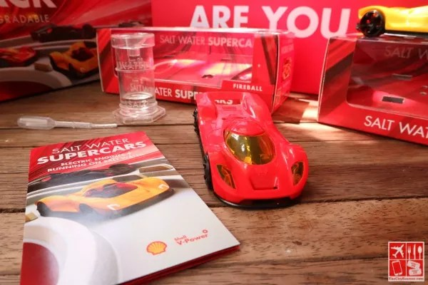 Shell Saltwater Supercar Fireball