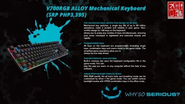 V700RGB Alloy Mechanical Keyboard