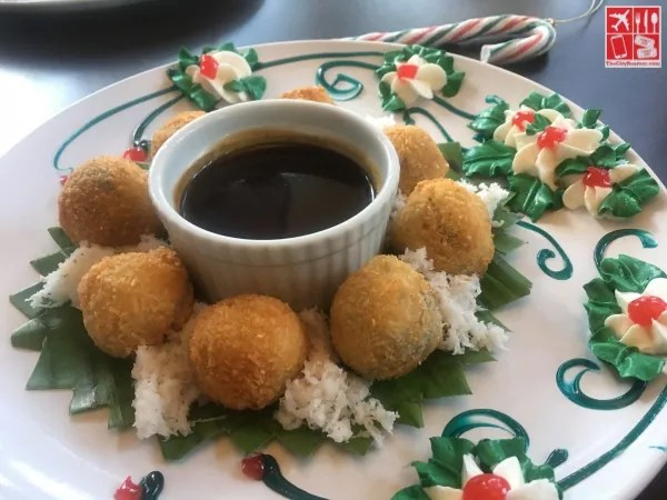 Crispy Puto Bumbong - Holiday dishes at Chef Laudico Guevarra's