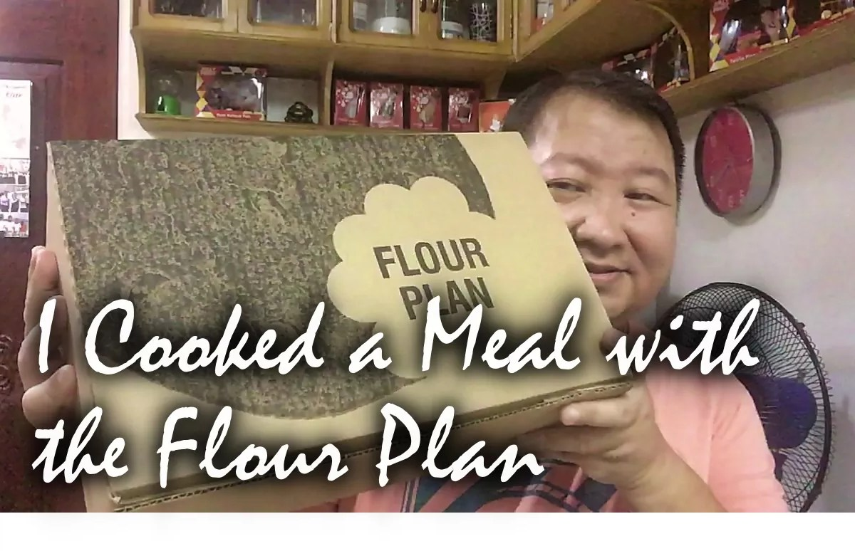 I Cooked a Meal with Flour Plan