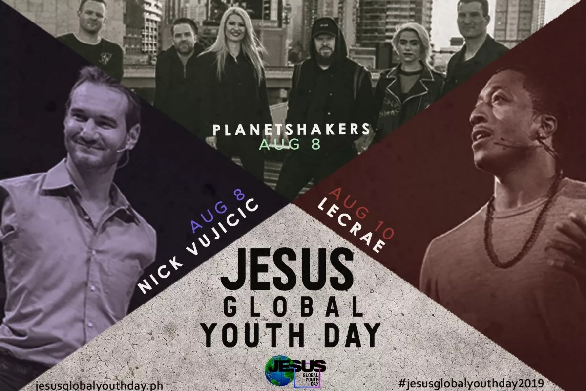Jesus Global Youth Day Artists and Speakers
