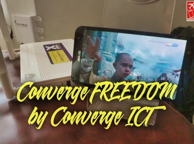 Converge FREEDOM streaming service by Converge ICT_Fotor