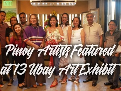 Featured Artists at 13 Ubay Art Exhibit
