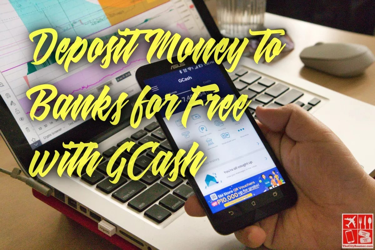 Deposit Money to Banks for Free with GCash
