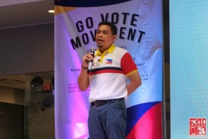 Go Vote Movement is led by Atty Erickson Balmes