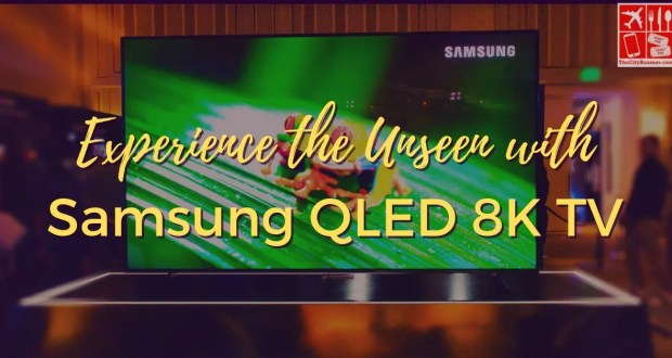 Experience the Unseen with Samsung QLED 8K TV