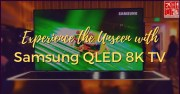 Samsung QLED 8K TV is for Real