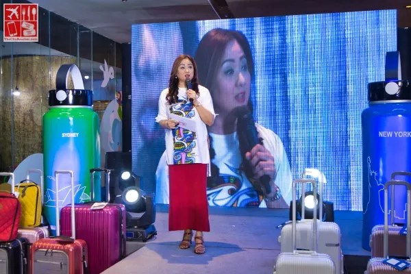 Ms Christine Babao hosts the Lock&Lock Travel In Style Event